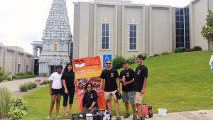 Carwash Fundraiser at Hindu Mandir